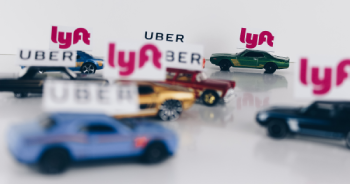 toy cars with uber logo